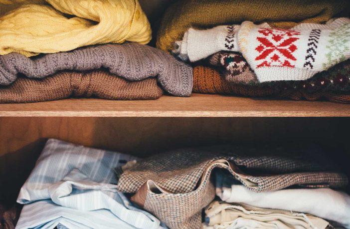 Sezonowe przechowywanie ubrań