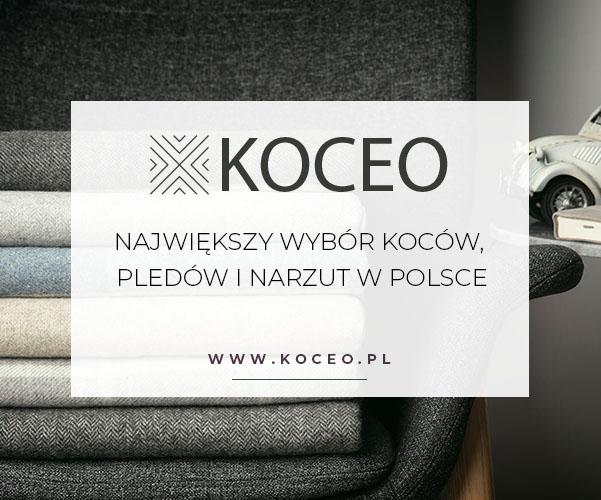 www.koceo.pl - największy wybór koców, pledów i narzut w Polsce